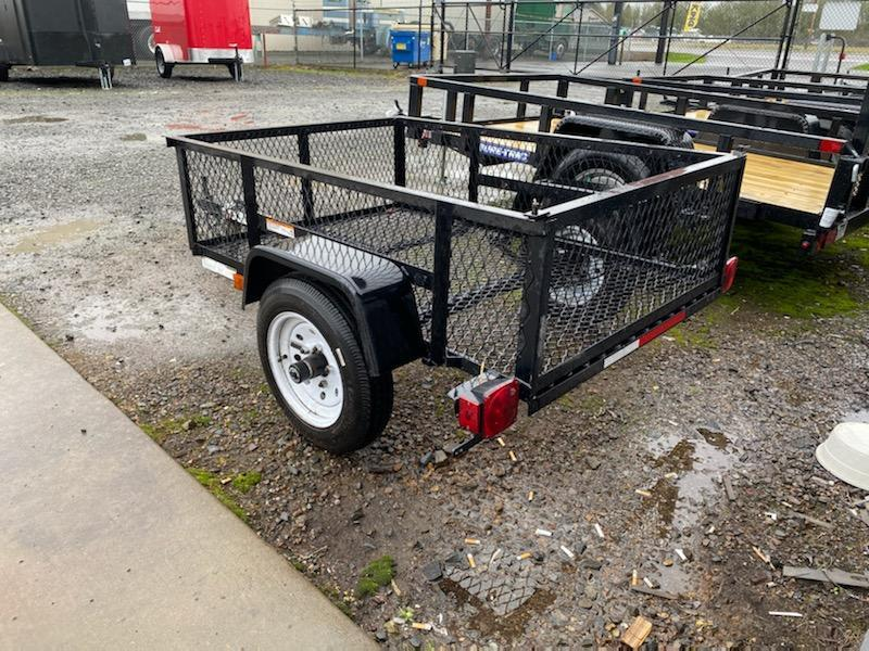 3.5 x 5 Carry-On Utility Trailer **  Used  **