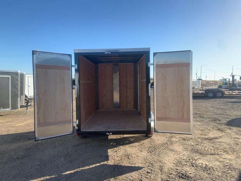 6X10 Single Axle Enclosed Cargo Trailer