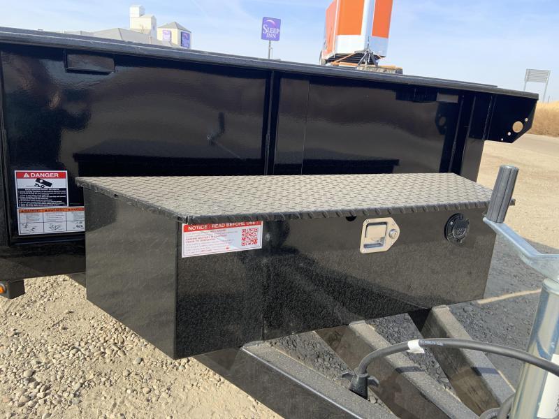 5x8 Single Axle Dump Trailer