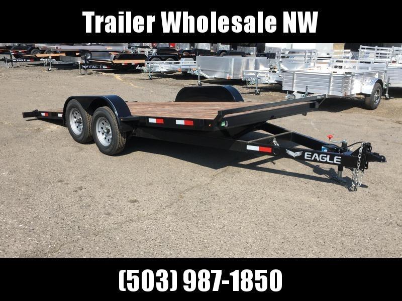 7x16 Car Trailer - 7k Tilt Utility Trailer