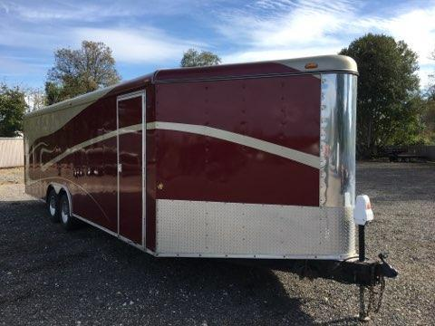 2000 Interstate Used Enclosed Cargo Trailer 8.5x24+4