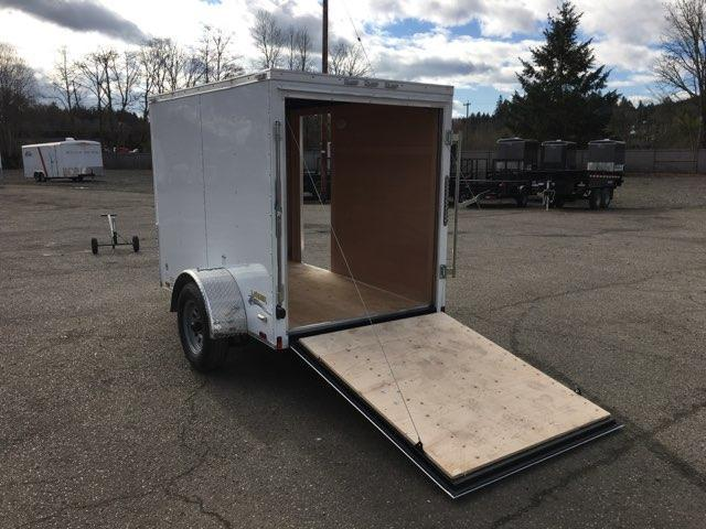 5x8 Enclosed Cargo Trailer With Ramp