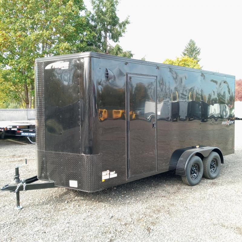 7x16 7k Enclosed Cargo Trailer  ** Side by Side **
