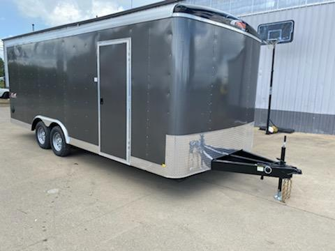 8.5x20 Enclosed Cargo Trailer  **  Extra Height  **  Car Carrier Package  **  8'' I beam  **