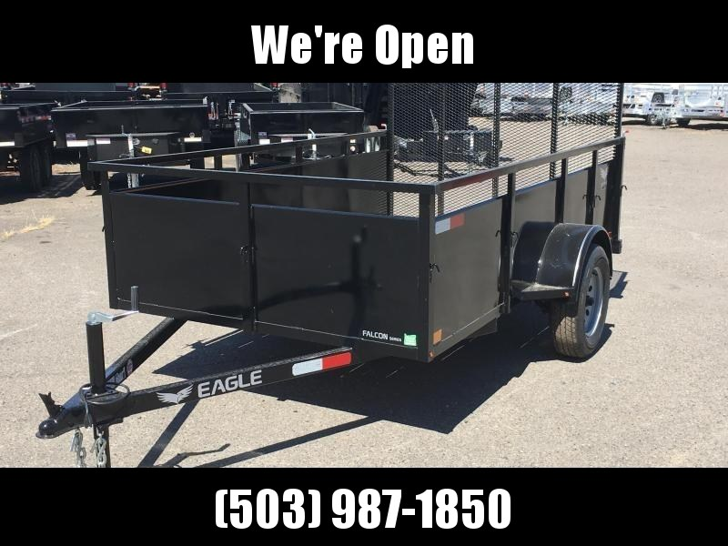 5x10 Utility Trailer With Drop Down Gate