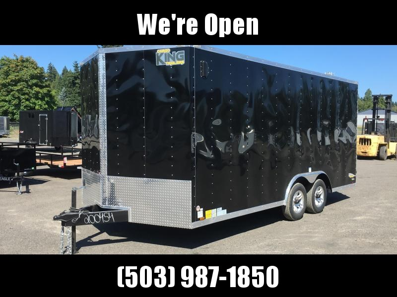 8.5x16 7k Enclosed Cargo Trailer **Plus Height**