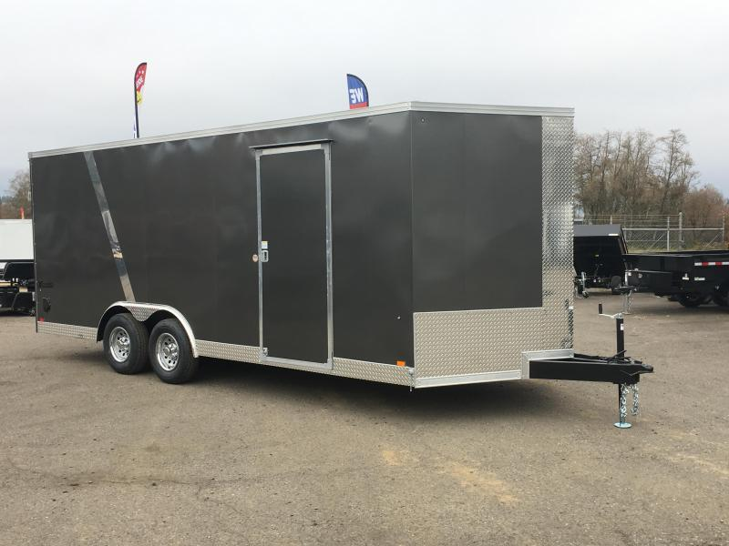 8.5x24 Enclosed Cargo Trailer **Screwless Skins**
