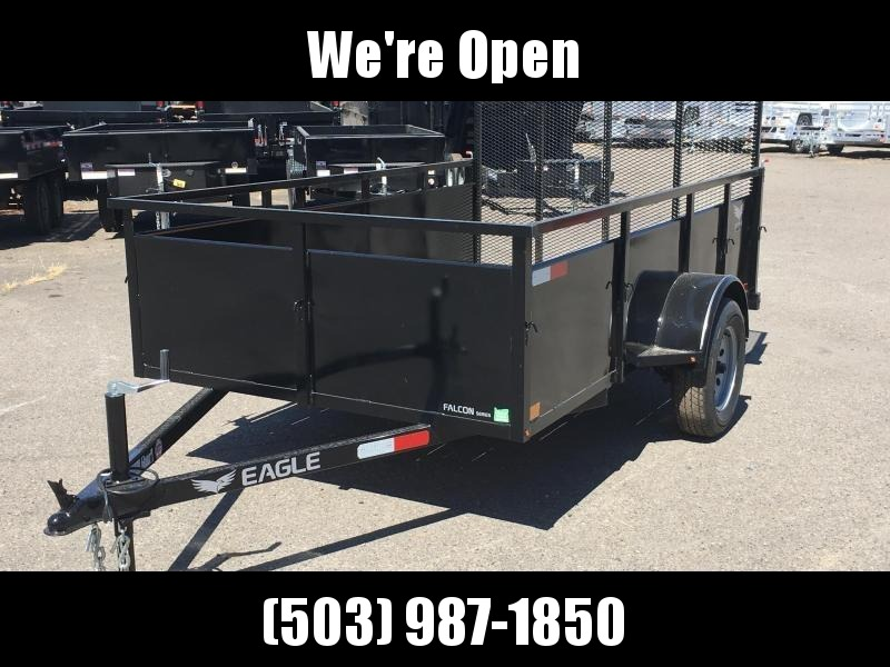 6x10 Utility Trailer With Drop Down Gate