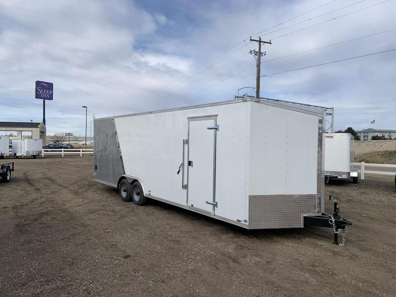 8.5x26 Tandem Axle 10k Enclosed Cargo Trailer