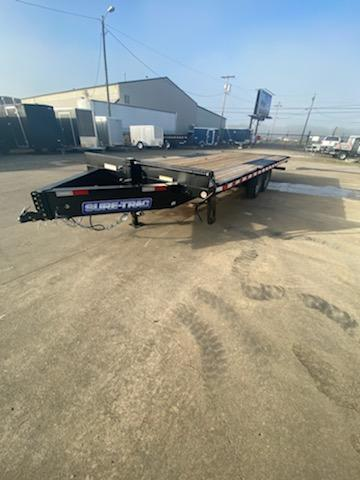 8.5x20 15k Deckover Equipment Trailer With Ramps