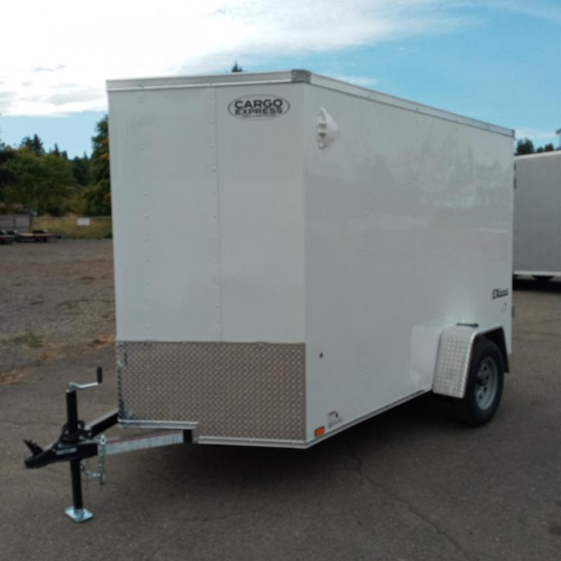 6x10 Enclosed Trailer With Double Doors