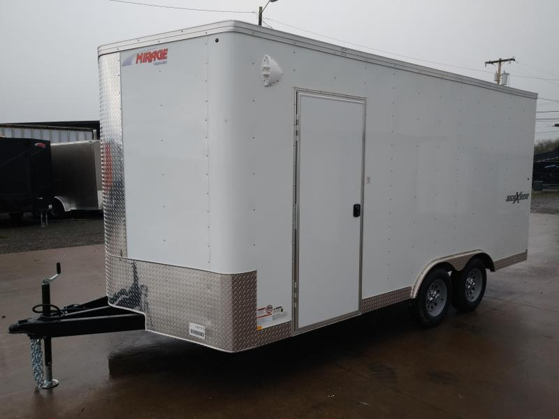 2021 Mirage Trailers MXPS8.516TA2 Enclosed Cargo Trailer