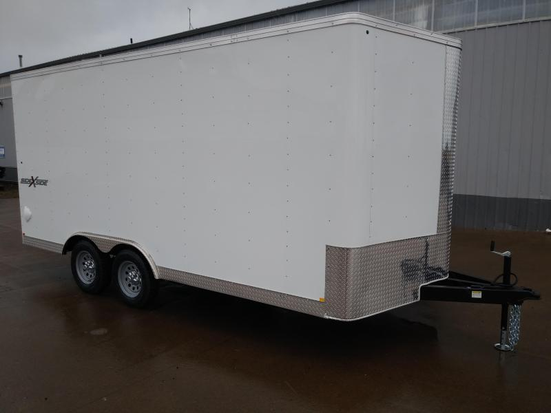 New 2021 Mirage 8.5x16 Enclosed Cargo Trailer With Extra Height