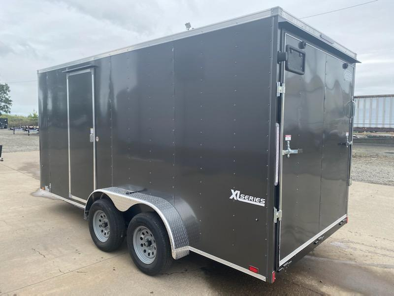 2022 7X16 Enclosed Cargo Trailer  **  Extra Height  **  Rear Ramp Door