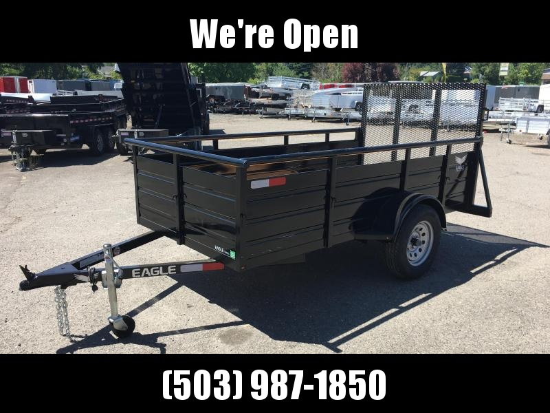 5x10 Utility Trailer With Drop Gate