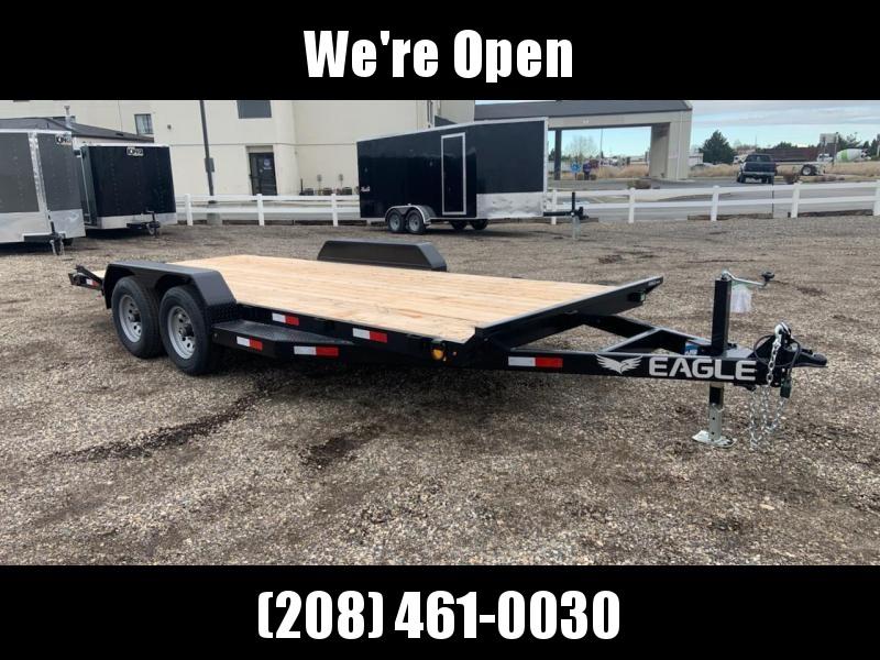 7x18 Tandem Axle Open 10k Car Hauler