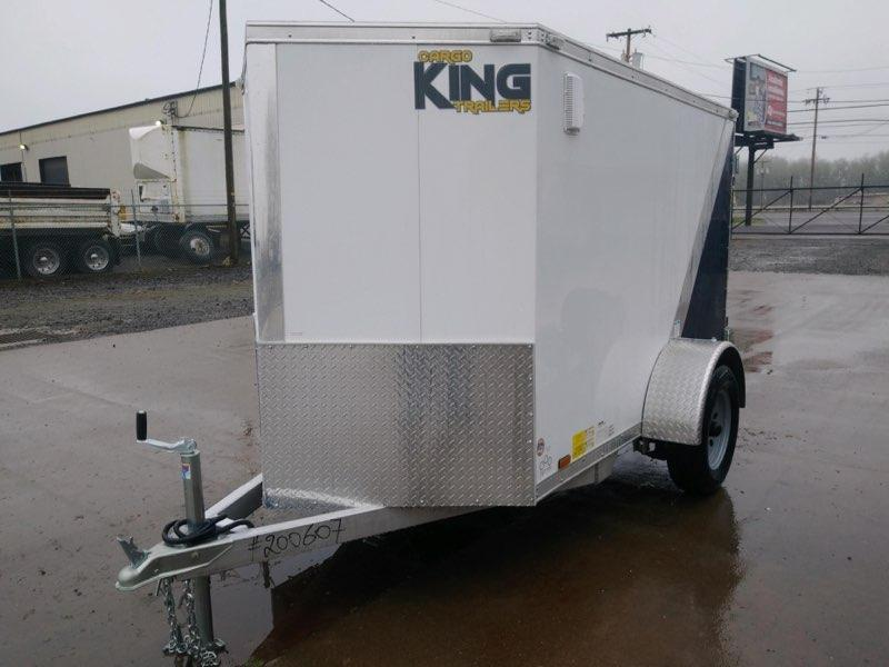 5x8 Enclosed Cargo Trailer  **  Aluminum Frame **