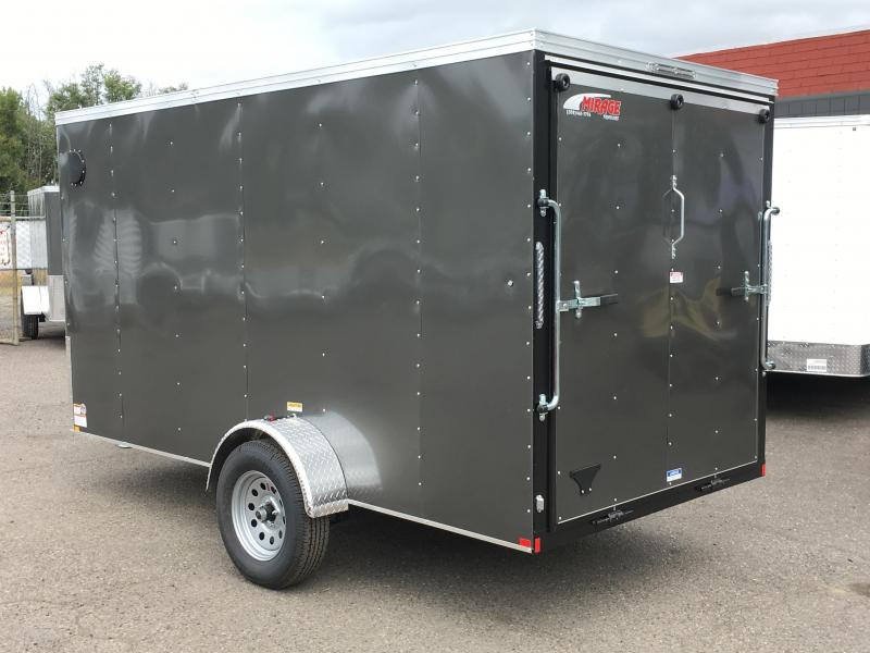 6x10 Enclosed Trailer With Ramp