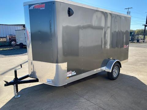 Enclosed Cargo Trailer ** REAR RAMP DOOR ** 24'' STONEGUARD **