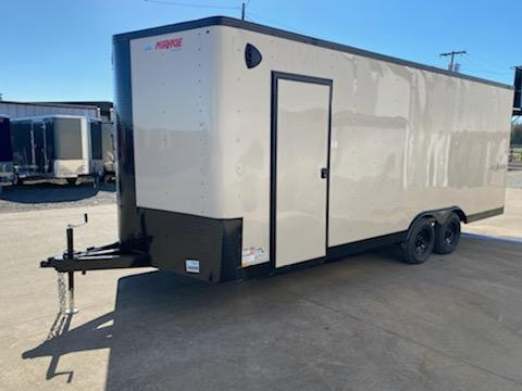 Enclosed Cargo Trailer ** Desert Tan Side x Side package with Pitch Black package **