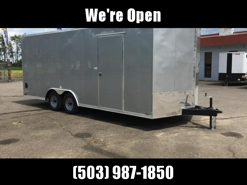 8.5x18 7k Enclosed Cargo Trailer **Plus Height**