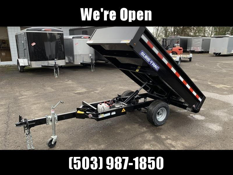 5x8 Utility Dump Trailer With Ramps