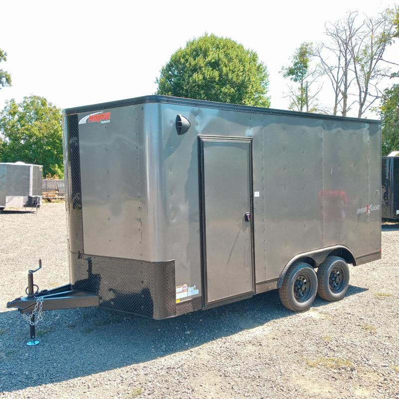 8.5x14 Enclosed Cargo Trailer ** Side by Side **