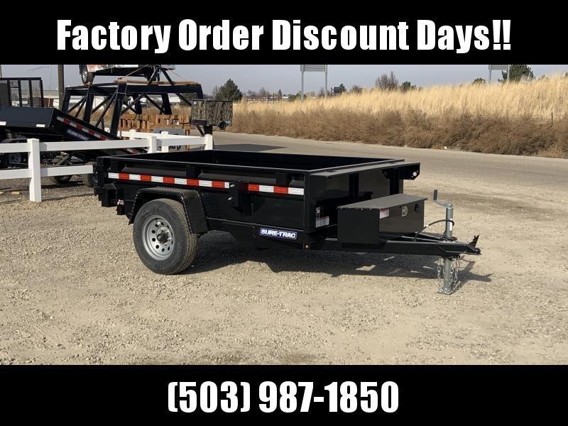 5x8 Single Axle Heavy Duty 5k Dump Trailer **FACTORY ORDER**