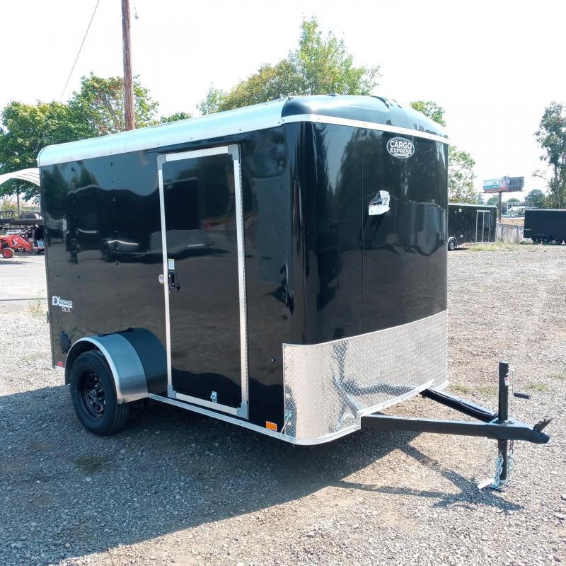 6x10 Enclosed Trailer With Rear Ramp Door