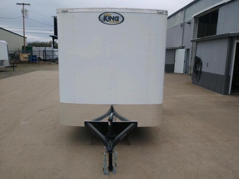 6x12 Enclosed Cargo Trailer  ** Double Rear Doors  **  LED Lighting  **