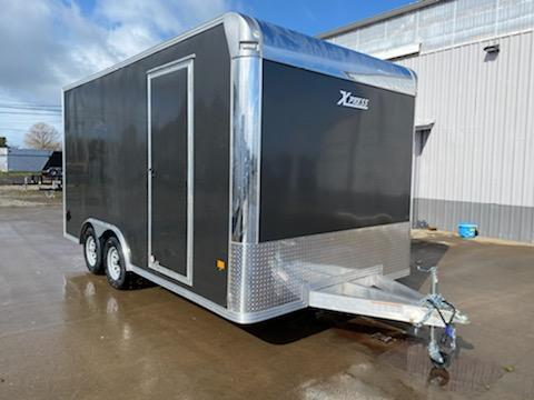 "2021 ALCOM XPRESS 8X16 **  ALUMINUM  **  +6"" Additional Height and Beavertail"