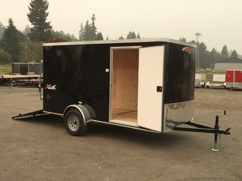 6x12 Enclosed Trailer With Ramp RV Door And Plus Height