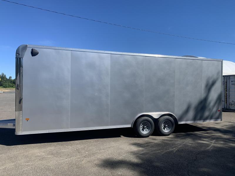 2022 ALCOM 8.5x24 Enclosed Cargo Trailer  **  Car Hauler  **  All-Aluminum **FACTORY ORDER**