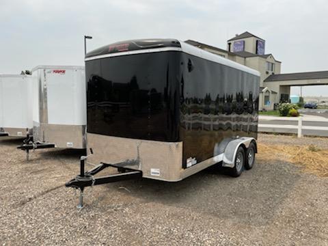 7x14 Tandem Axle Enclosed 7k Cargo Trailer