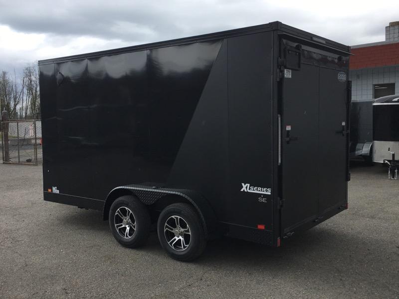 7x14 Enclosed Cargo Trailer **Side X Side**