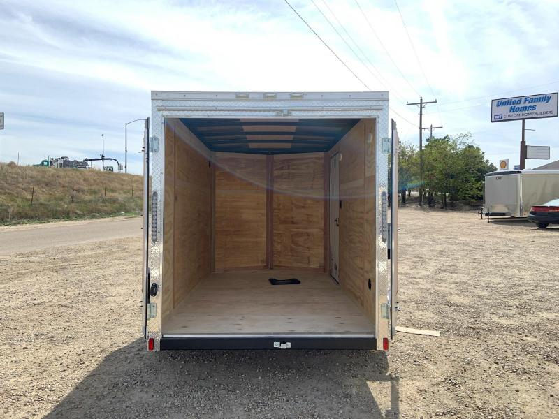 Cargo King 6X10 Single Axle Trailer With Rear Double Doors