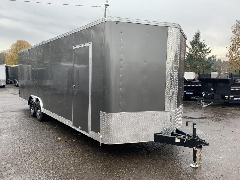 8.5x26 Enclosed Car Trailer With Plus Height