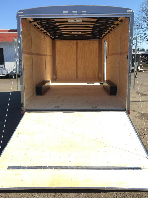 8.5x24 Enclosed Car Cargo Trailer **Plus Height**