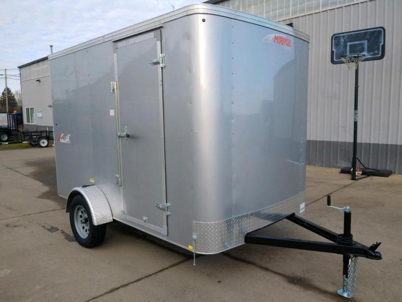 6x10 Enclosed Cargo Trailer  **  6'' of Height Increase  **  Rear Ramp Door  **