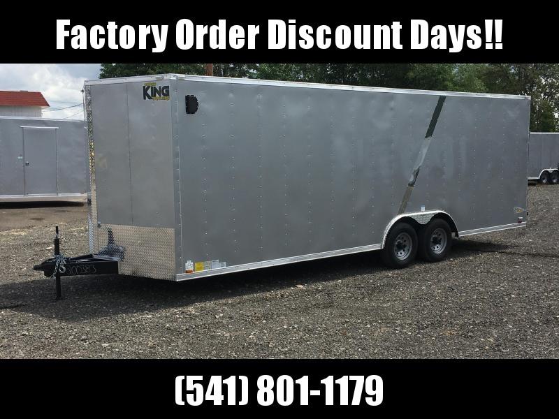 8.5x24 Tandem Axle Enclosed Cargo Trailer **FACTORY ORDER**
