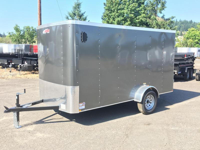 6x10 Enclosed Trailer With Ramp RV Door And Plus Height
