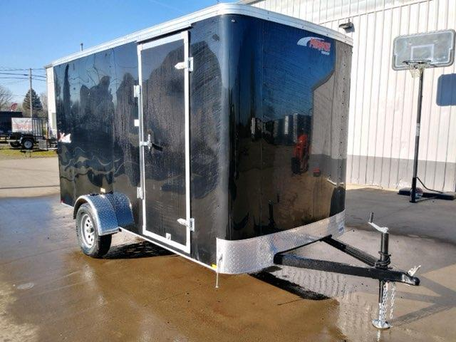 6 X 12 Enclosed Cargo Trailer ** 6'' Extra Height  **  Rear Ramp Door  **