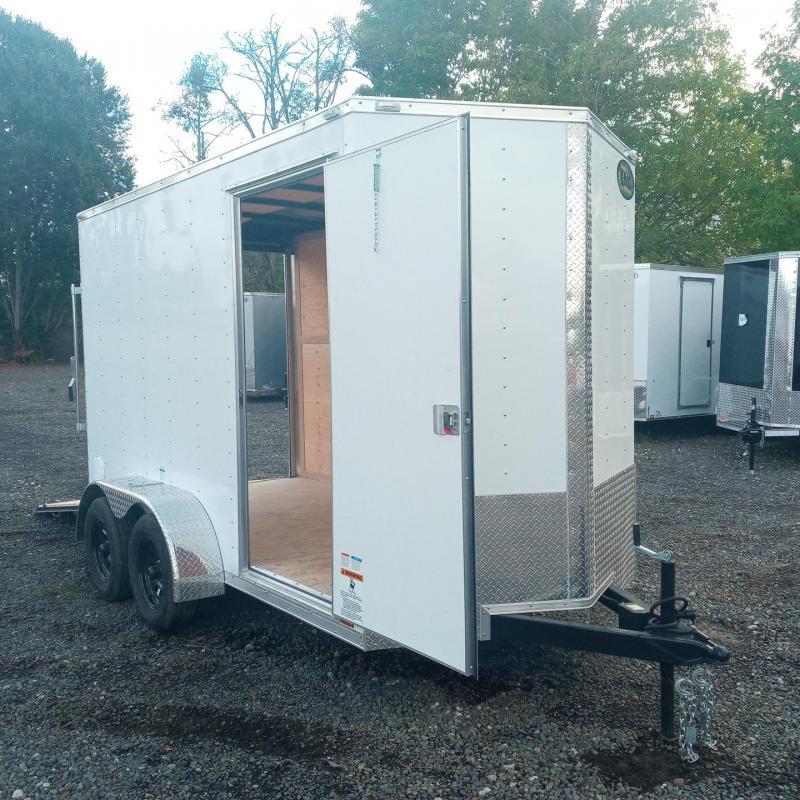 6x12 7k Cargo Trailer with Rear Ramp Door