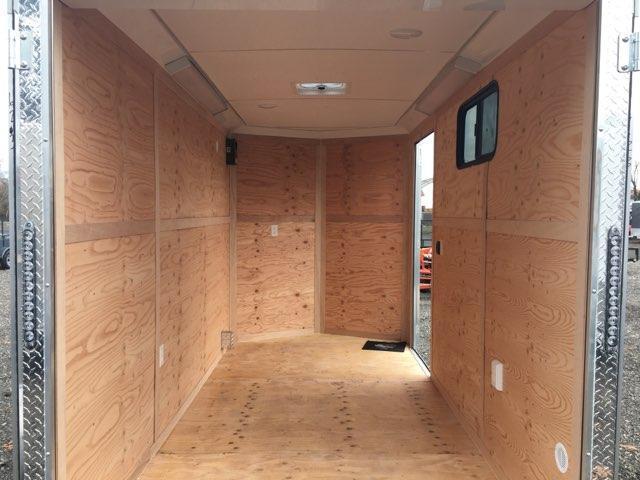 6x12 Enclosed Cargo Trailer With Rv Door And Double Door