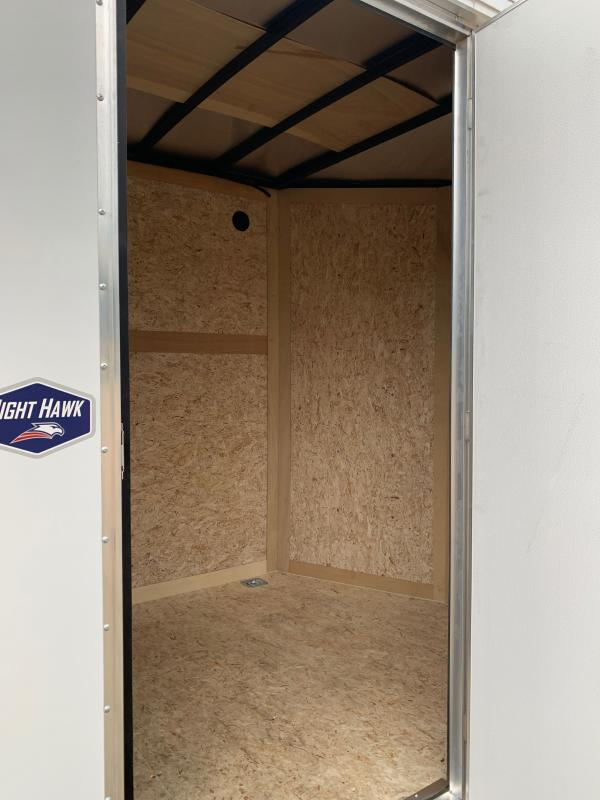 2021 American Hauler 6 X 12 SINGLE AXLE NIGHT HAWK Enclosed Cargo Trailer