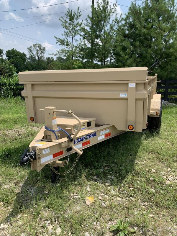 2021 Load Trail 14' 14k dump trailer Dump Trailer