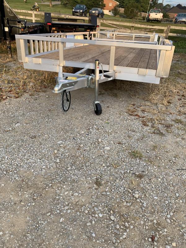 2021 Sure-Trac 7 x 14 ATv single axle ATV Trailer
