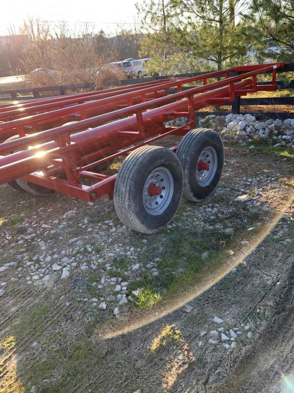 2020 Hayliner 32' bumper pull in-line roll bale hauler Other Trailer