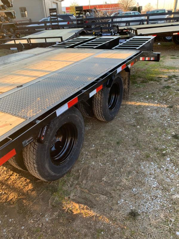 2021 Load Trail Low Pro 32' gooseneck Flatbed Trailer