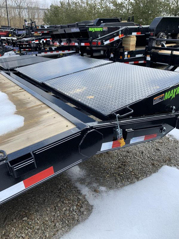 "83"" X 24' TANDEM AXLE equipment trailer"